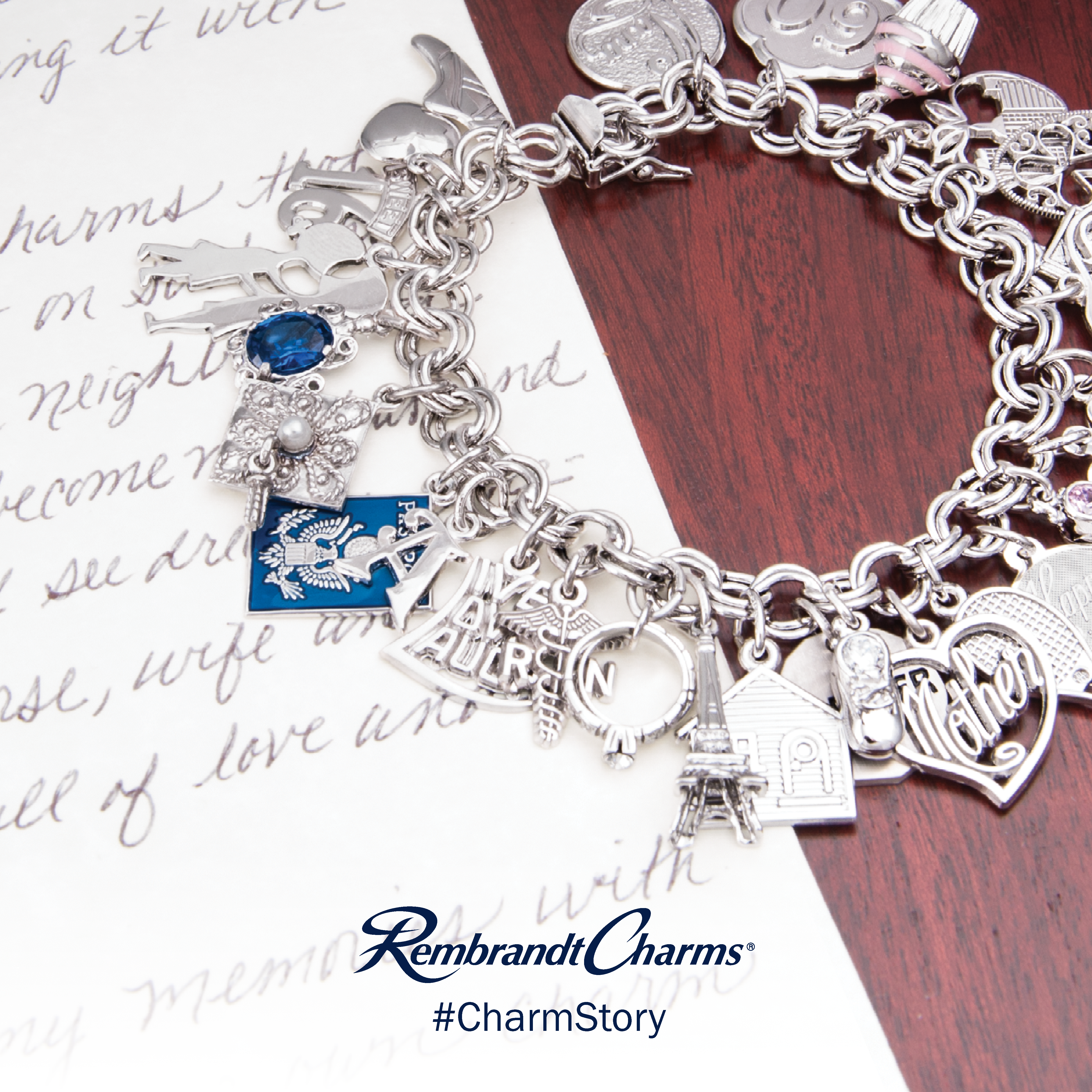 Rembrandt Charms - Charm_Story_Bracelet.png - brand name designer jewelry in Edenton, North Carolina