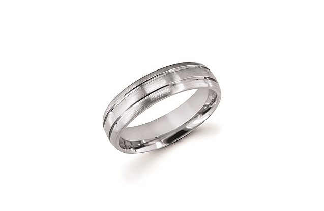 Ostbye Mens Wedding Bands - UF108T.jpg - brand name designer jewelry in Edenton, North Carolina
