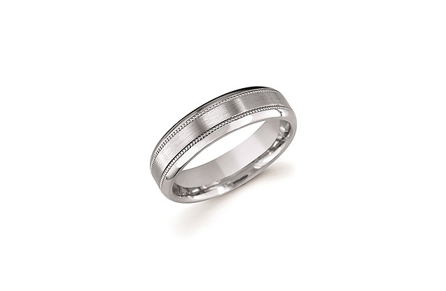 Ostbye Mens Wedding Bands - UF117T.jpg - brand name designer jewelry in Edenton, North Carolina