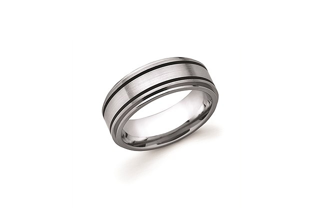 Ostbye Mens Wedding Bands - UF122T.jpg - brand name designer jewelry in Edenton, North Carolina